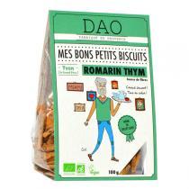 Dao - Biscuits Romarin Thym bio 100g