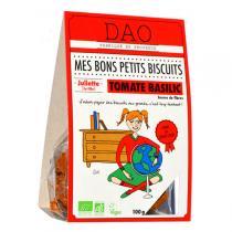 Dao - Biscuits tomates basilic bio 100g