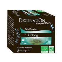 Destination - Thé Bleu Oolong Chine bio - 20 sachets