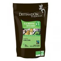 Destination - Thé Vert à la menthe bio 250g