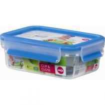 Emsa - Boîte alimentaire Clip-Close rectangulaire 55cl