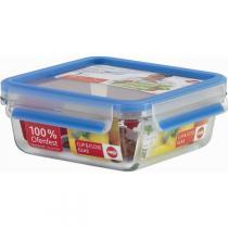 Emsa - Boîte alimentaire Clip & Close Verre rectangulaire 0,90L