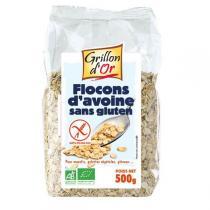 Grillon d'or - Flocons d'avoine Sans Gluten - 500g