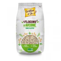 Grillon d'or - Flocons d'avoine Sans Gluten 500 g