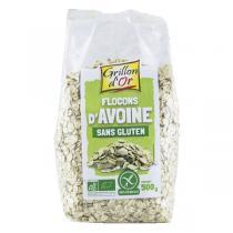 Grillon d'or - Flocons d'avoine Sans Gluten bio - 500 g
