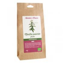 L'Herbier de France - Menthe poivrée feuilles bio