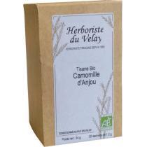 L'Herboriste du Velay - Tisane Camomille d'Anjou Bio 20 Sachets
