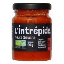 La Marche Avant - Sauce piquante Sriracha l'Intrépide bio 90g