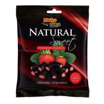 Makulaku - Bonbons de réglisse à la fraise 80g