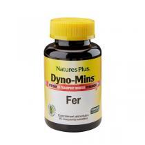 Nature's Plus - Dyno-Mins Fer - 90 comprimés