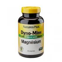 Nature's Plus - Dyno-Mins Magnésium - 90 comprimés