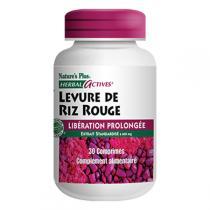 Nature's Plus - Levure De Riz Rouge Libération Prolongee - 30 comprimés
