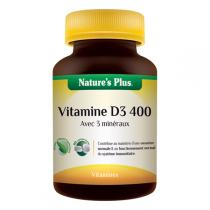 Nature's Plus - Vitamine D3 400 LP - 90 comprimés