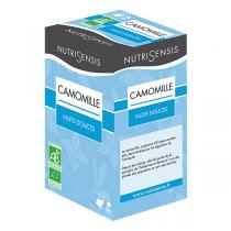 Nutrisensis - Infusion camomille bio - 20 sachets