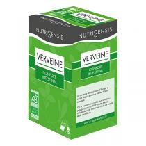 Nutrisensis - Infusion verveine bio - 20 sachets