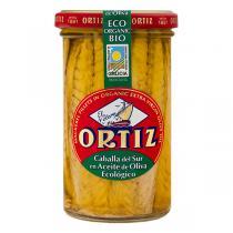 Ortiz - Filets Maquereau à l'huile d'olive bio 250g