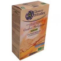 Saveurs Attitudes - Crackers non salés Façon Pain Azyme 200g
