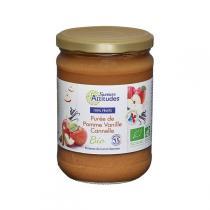 Saveurs Attitudes - Purée de Pomme Vanille Cannelle 560g
