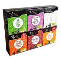 Touch Organic - Assortiment de thés - 6x8 sachets