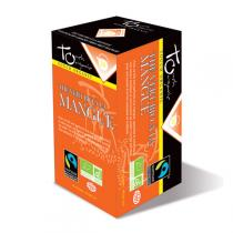 Touch Organic - Thé vert à la Mangue bio - 24 sachets