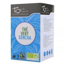 Touch Organic - Thé vert Sencha bio - 24 sachets