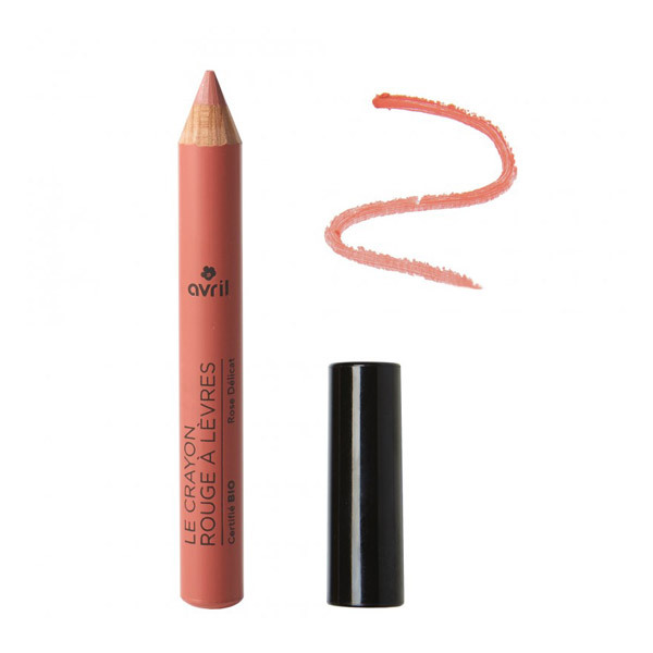 Avril - Crayon rouge à lèvres Rose délicat Bio