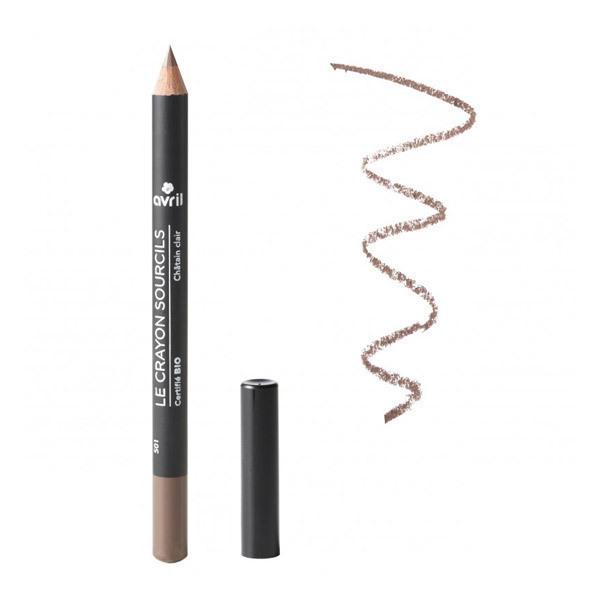 Avril - Crayon sourcils Châtain clair Bio