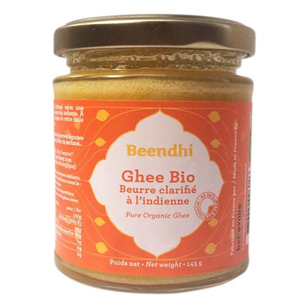 Beendhi - Ghee bio (beurre clarifié à l'indienne) 145g