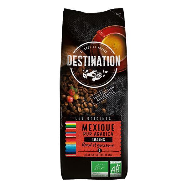 Destination - Café grain pur arabica du Mexique 250g