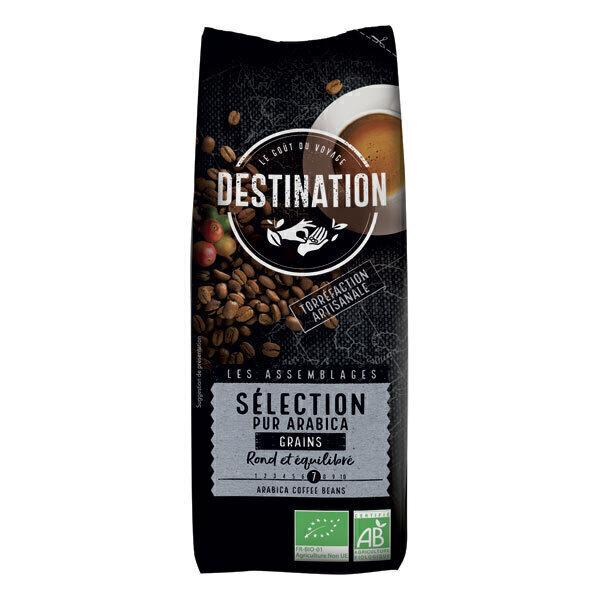 Destination - Café grain Sélection pur arabica 250g