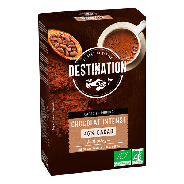Destination - Chocolat intense 46% cacao 300g