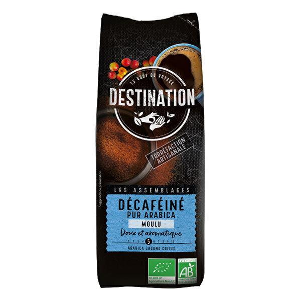 Destination - Décaféiné moulu pur arabica 250g
