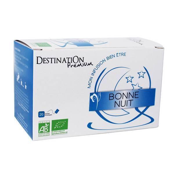 Destination - Infusion Bonne Nuit 20 sachets