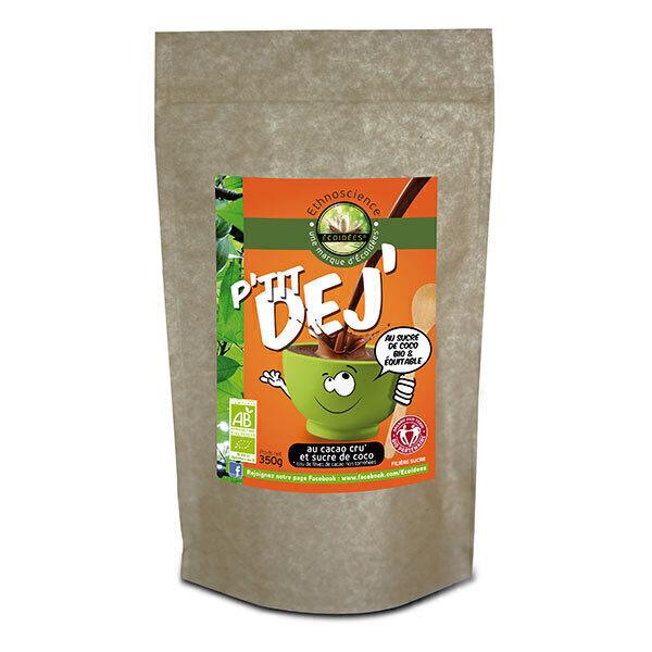 Ecoidées - P'tit Déj Cacao cru et sucre de coco 350g