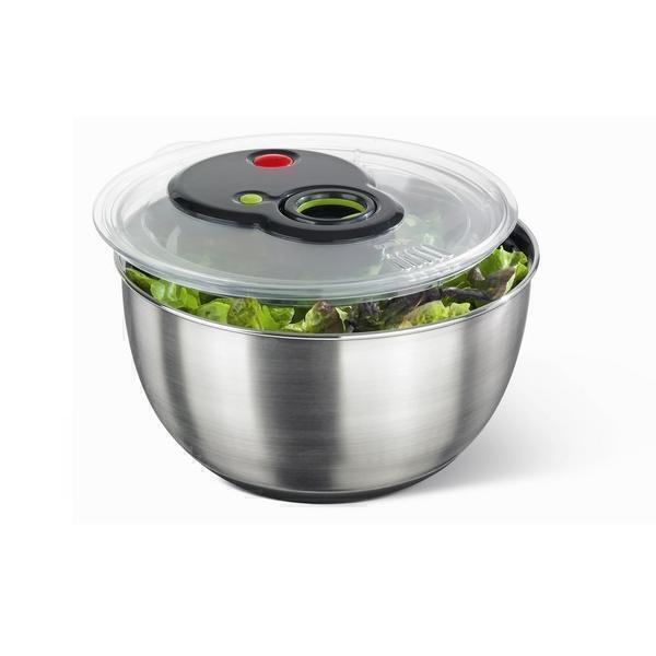 Emsa - Essoreuse à salade en inox Turboline 4,5L
