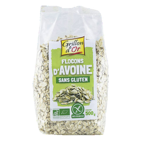 Grillon d'or - Flocons d'avoine 500g