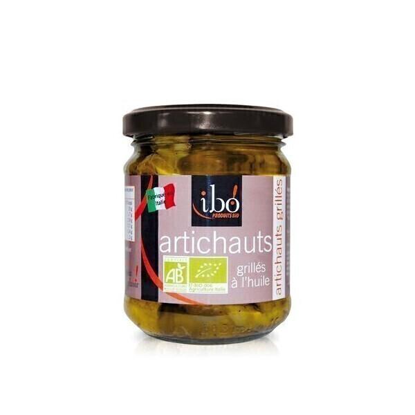 Ibo! - Artichauts Grillées à l'huile 190gr