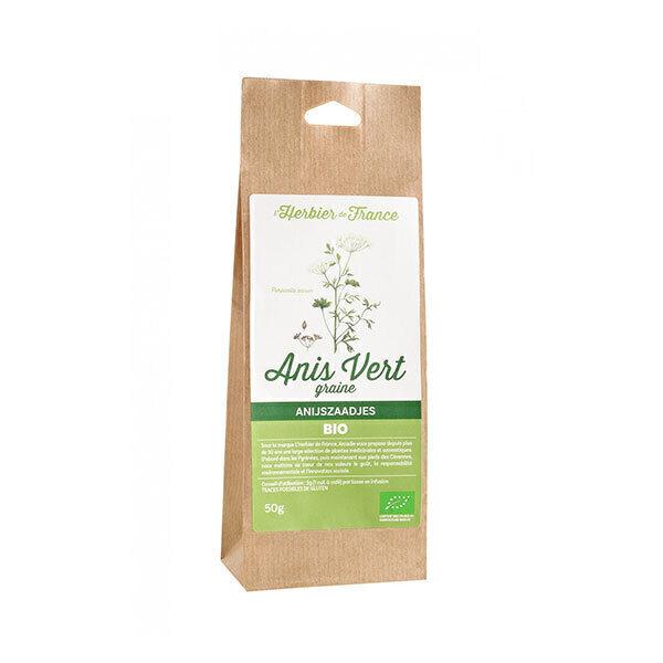 L'Herbier de France - Anis vert Graines 50g