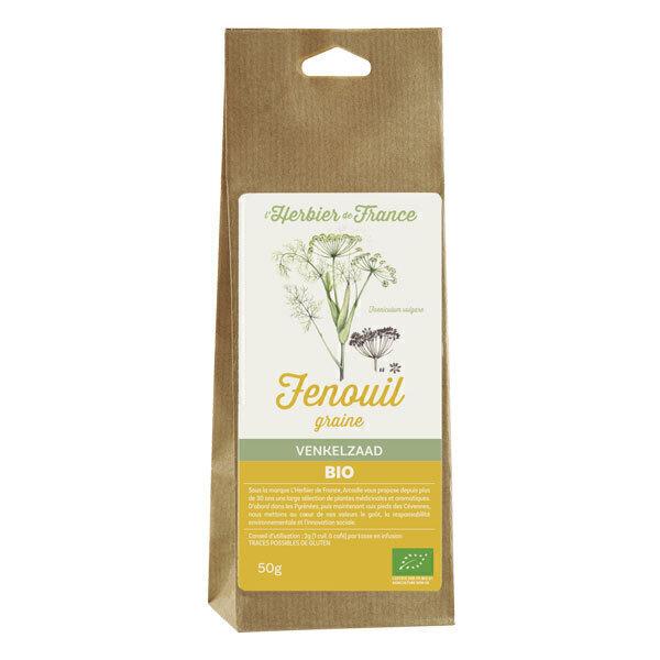 L'Herbier de France - Fenouil Graines 50g