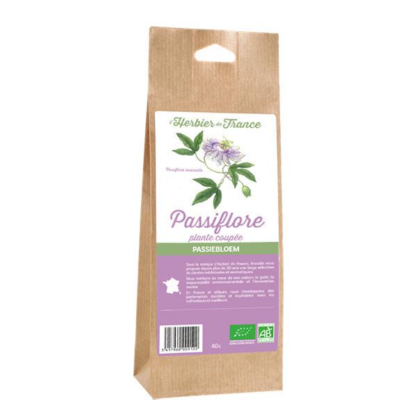 L'Herbier de France - Passiflore plante coupée bio 40g