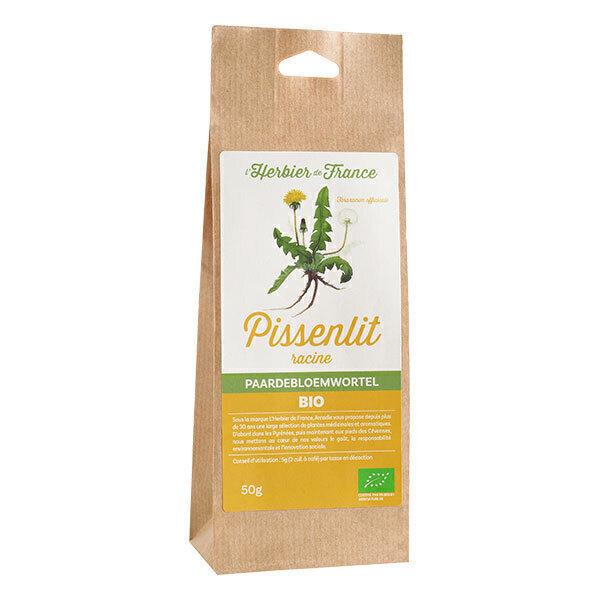 L'Herbier de France - Pissenlit racines bio 50g