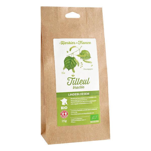 L'Herbier de France - Tilleul bractées (fleurs) bio 25g