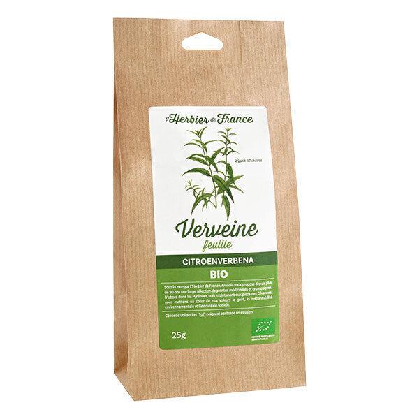 L'Herbier de France - Verveine odorante feuiles bio 25g