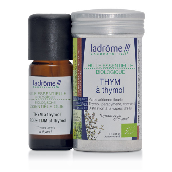 Ladrôme - Huile essentielle Thym à thymol 10ml