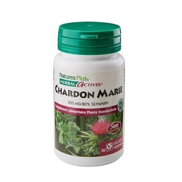Nature's Plus - Chardon Marie - 30 gélules