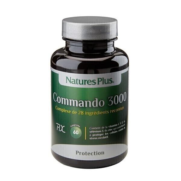 Nature's Plus - Commando 3000 - 60 comprimés