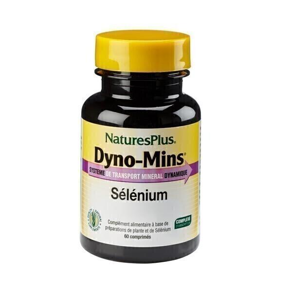 Nature's Plus - Dyno-Mins Sélénium - 60 comprimés