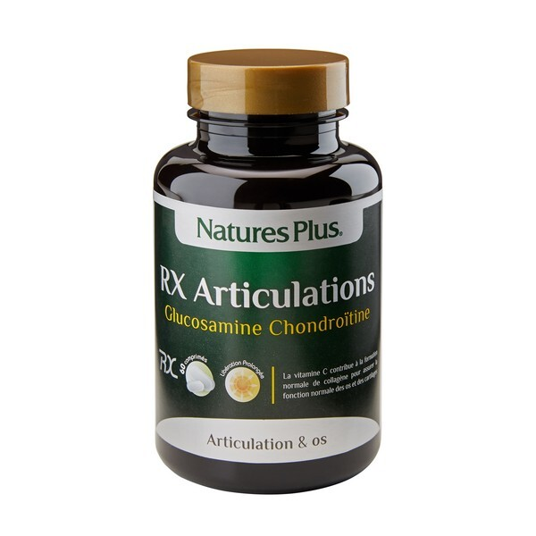 Nature's Plus - RX Articulations - 60 comprimés