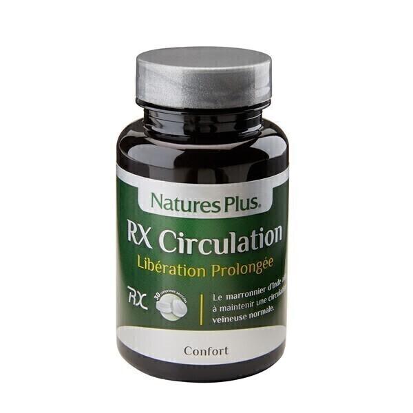 Nature's Plus - RX Circulation - 30 comprimés