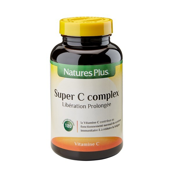 Nature's Plus - Super C Complex - 120 comprimés